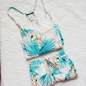 ECHO Sleepwear Tropical 2-PC Pajama Set Size Large